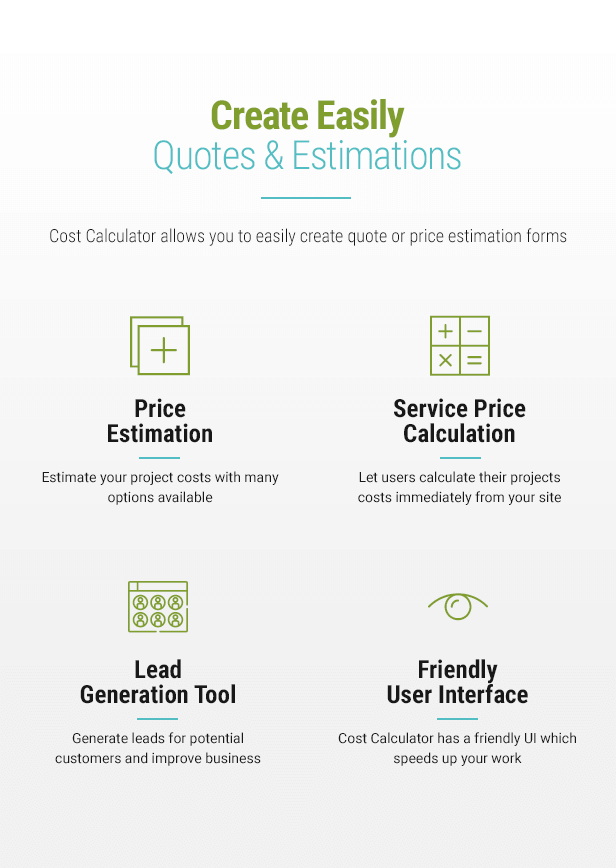 - Plugin Info 003 - Cost Calculator – WordPress Plugin