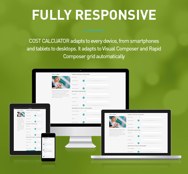 Cost Calculator - WordPress Plugin 4