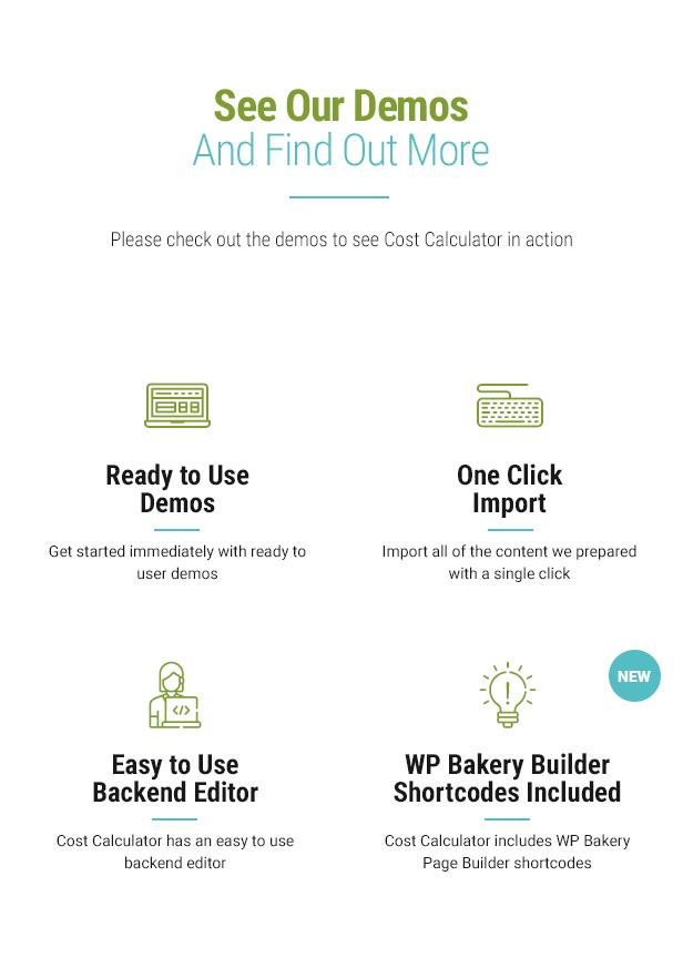 Cost Calculator WordPress - 9